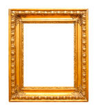 Gold photo frame Royalty Free Stock Photo