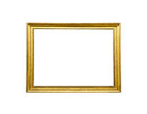 Gold picture frame Stock Images