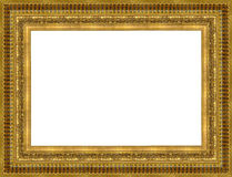 Gold a picture frame Royalty Free Stock Photos
