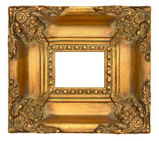 Gold Picture Frame Royalty Free Stock Photography