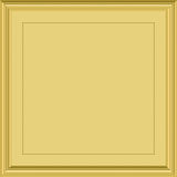 Gold plaque Stock Images