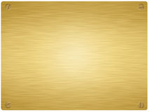 Gold plaque3 Stock Images