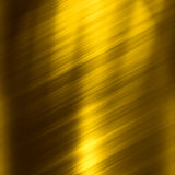 Gold plate texture Stock Photos