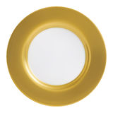 Gold Plate Stock Photo