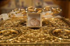 Gold Plated Accessories Stock Images