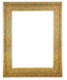 Gold Plated Wooden Picture Royalty Free Stock Photos