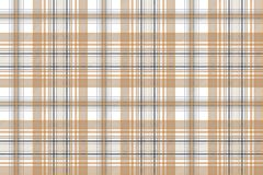 Gold and platinum color check plaid seamless pattern vector illustration