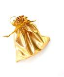 Gold pocket Stock Photo