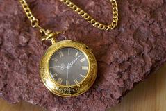 Gold Pocket Watch Stock Images
