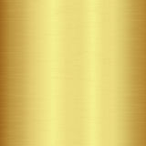 Gold polished metallic texture Royalty Free Stock Images