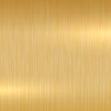 Gold polished surface. Stock Photography