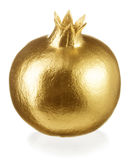 Gold pomegranate Stock Images