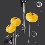 Gold poppy Royalty Free Stock Image