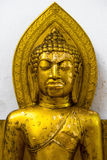 Gold Portrait buddha statue Royalty Free Stock Photos