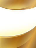 Gold poster background Royalty Free Stock Photos