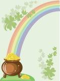 Gold pot Stock Photo