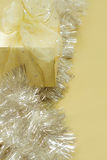 Gold Present Holiday Background Royalty Free Stock Photo