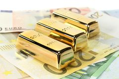 Gold price Stock Images