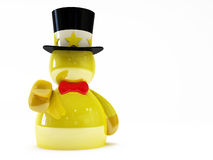 Gold puppet Stock Images