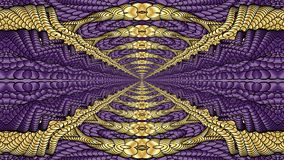 Gold and purple abstract background for the design of textiles,. Gold and purple abstract background is computer graphics and can be used in the design of vector illustration
