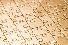 Free Gold Puzzle Background Royalty Free Stock Photo - 44254725