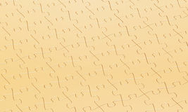 Gold puzzle background Stock Photo