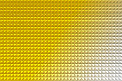 Gold pyramid abstract background Stock Photo