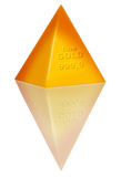 Gold Pyramid Stock Images