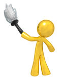 Gold Quality Cleaning Services Stock Photo
