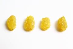 Gold raisin vs Black dry raisin Royalty Free Stock Photo