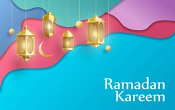 Free Gold Ramadan Kareem Background Place For Text Royalty Free Stock Photography - 145193997