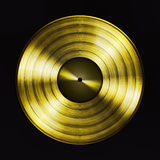 Gold record Stock Photography