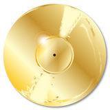 Gold Record Royalty Free Stock Images