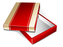 Gold-red box Stock Image