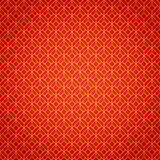 Gold and red geometric national chinese seamless Royalty Free Stock Photos