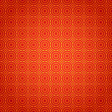 Gold and red geometric national chinese seamless Stock Image