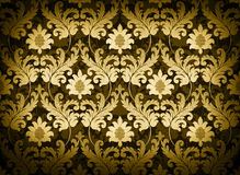Gold renaissance background Royalty Free Stock Images