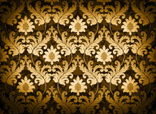 Gold renaissance background Royalty Free Stock Image