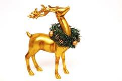 Gold Rendieer Stock Photo