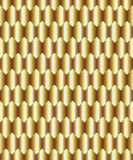 Gold rhombus background Royalty Free Stock Images