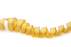 Gold ribbon Stock Images
