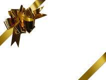 Gold ribbon Royalty Free Stock Images