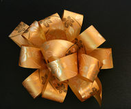 Gold ribbon Royalty Free Stock Photo