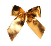 Gold Ribbon Royalty Free Stock Photos
