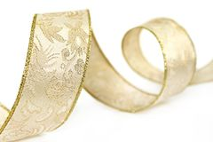 Gold Ribbon Royalty Free Stock Photography