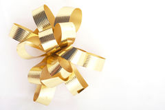 Gold Ribbons Royalty Free Stock Images