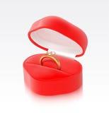Gold ring royalty free illustration