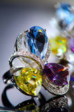 Gold ring Royalty Free Stock Image