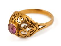 Gold Ring Stock Image