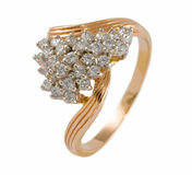 Gold Ring Stock Photography